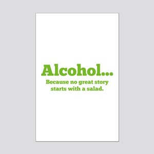 Alcohol Mini Poster Print
